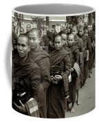 Monks In The Monastery Coffee Mug