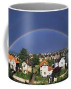 Monkstown, Co Dublin, Ireland Rainbow Coffee Mug