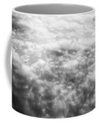 Monochrome Clouds Coffee Mug