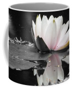 Monochrome Lily Coffee Mug