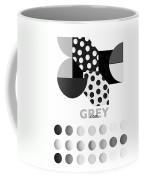 Monochrome Pheonix Coffee Mug