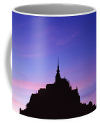 Mont St. Michel At Sunset Coffee Mug
