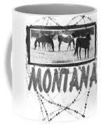 Montana Horse Design Coffee Mug