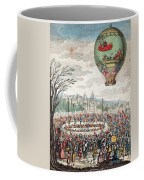 Montgolfier Balloon Le Flesselles Coffee Mug