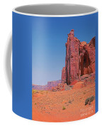 Monument Valley Elrphant Butte And Hogan Coffee Mug