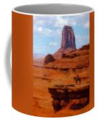 Monument Valley Pastel Coffee Mug