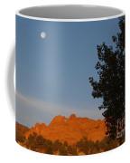 Moon Above Kissing Camels Coffee Mug