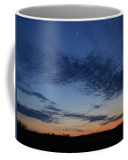 Moon And Clouds At Dusk Coffee Mug