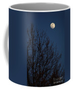 Moon And Trees Coffee Mug