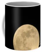 Moon Galaxy Saturn Coffee Mug