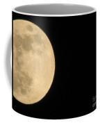 Moon In Galaxy Uranus Coffee Mug