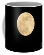 Moon In The Galaxy Mars Coffee Mug