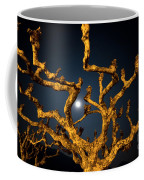 Moon Light And Tree Coffee Mug