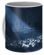 Moon Light Daisies Coffee Mug