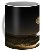 Moon Over Curumbin Coffee Mug