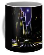 Moon Over Manhattan Coffee Mug