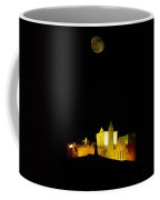 Moon Over Rock Of Cashel, Co Tipperary Coffee Mug