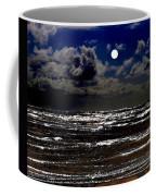 Moon Over The Pacific Coffee Mug