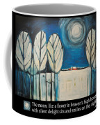 Moon Quote Poster Coffee Mug