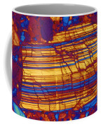 Moon Rock, Transmitted Light Micrograph Coffee Mug by Michael W. Davidson
