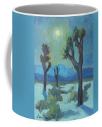 Moon Shadows At Joshua Coffee Mug