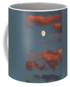 Moon Sunset Vertical Image Coffee Mug