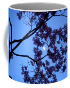 Moon Through Dogwood Coffee Mug
