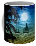 Moonlight Sail - Key West Coffee Mug