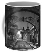 Moonlight View Of Market Street, Odos Coffee Mug