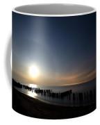 Moonrise At The Beach Coffee Mug by Cale Best