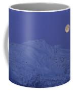 Moonset At Dawn Coffee Mug