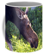 Moose Profile Coffee Mug