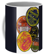 More Old Record Labels  Coffee Mug