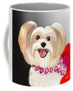 Morkie Valentine  Coffee Mug