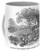 Mormon Flight, 1833 Coffee Mug by Granger