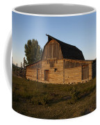 Mormon Row Barn Sunset Coffee Mug