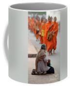 Morning Alms Coffee Mug