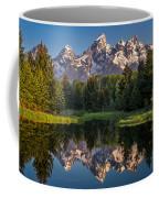 Morning At Schwabacher Landing Coffee Mug