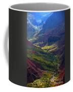 Morning Waimea Canyon Coffee Mug