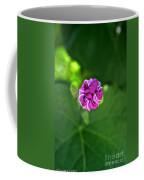 Morning Glory Puckered Up Coffee Mug