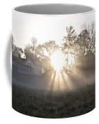 Morning Light At Valley Forge Farm Coffee Mug