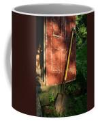 Morning Light On The Door Of An Old Coffee Mug