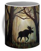 Morning Meandering Moose Coffee Mug