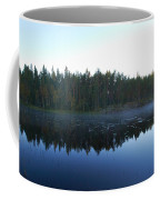 Morning Mist At Haukkajarv Coffee Mug