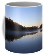 Morning Mist At Haukkajarvi Coffee Mug