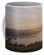 Morning Mist Over Vartry Lake, County Coffee Mug