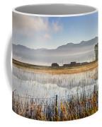 Morning Mists Of Cutler Marsh - Utah Coffee Mug