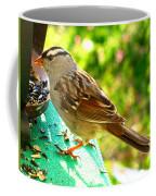 Morning Sparrow II Coffee Mug