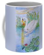 Morning Swim II  Edited Original Art Coffee Mug