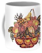 Mosaic Fruits Coffee Mug